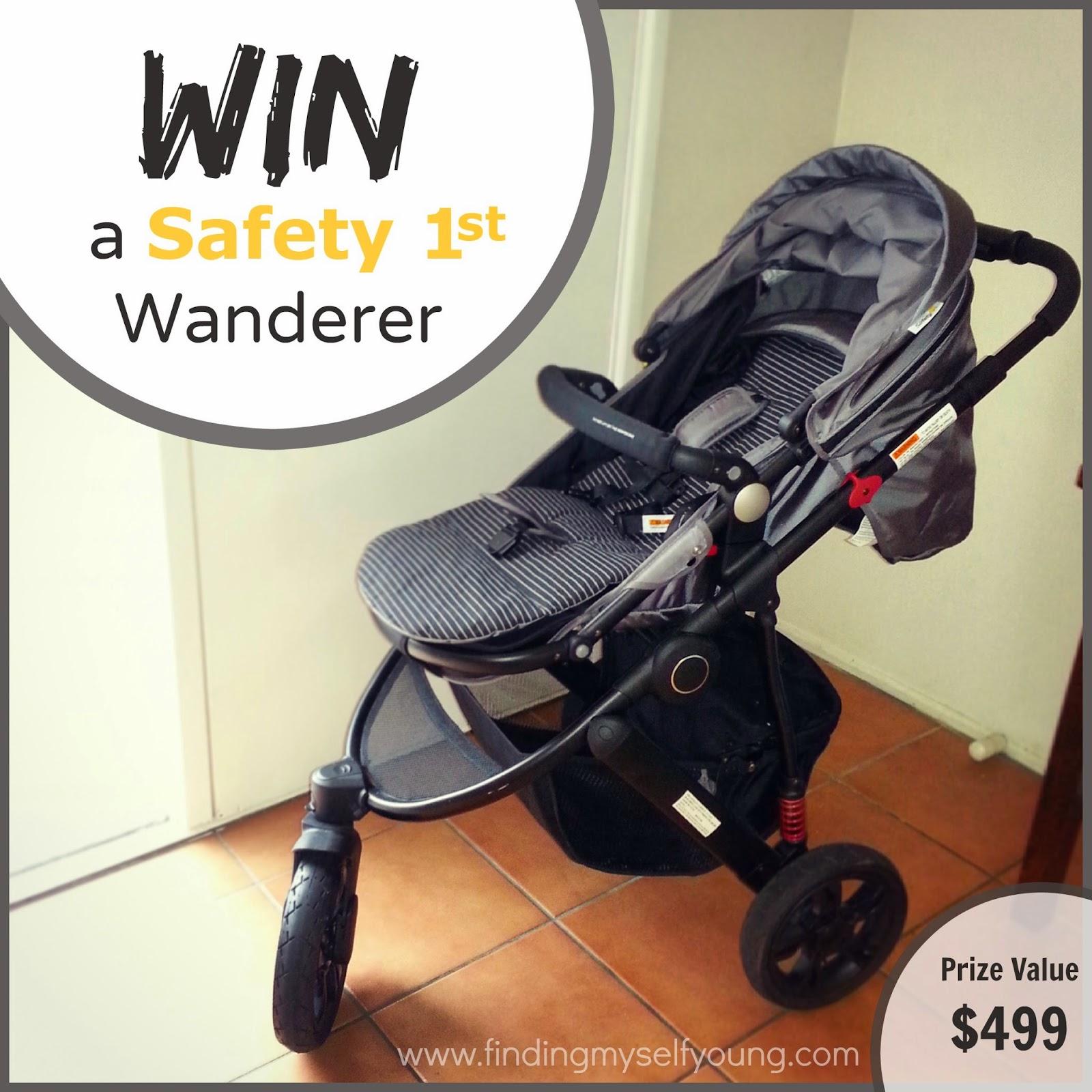 Win a safety 1st wanderer 3 wheel pram