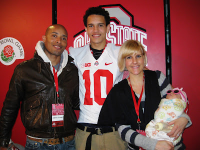 "Adrick Ceasar (father), Derek Kief, Kelly Ceasar (mother) and Zoey Ceasar (baby sister aka ""Hollywood"")"