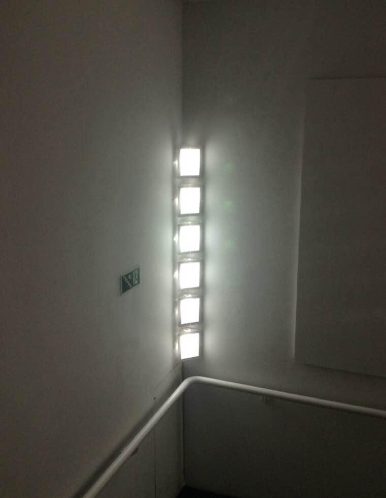 Luzes na escada