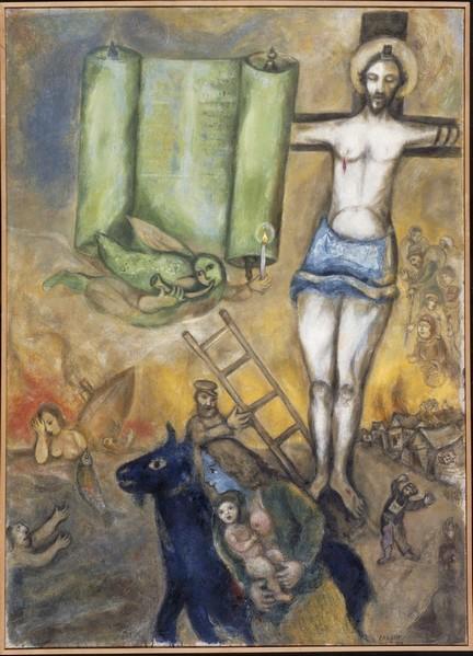 9.+Chagall+Crucifixion identité