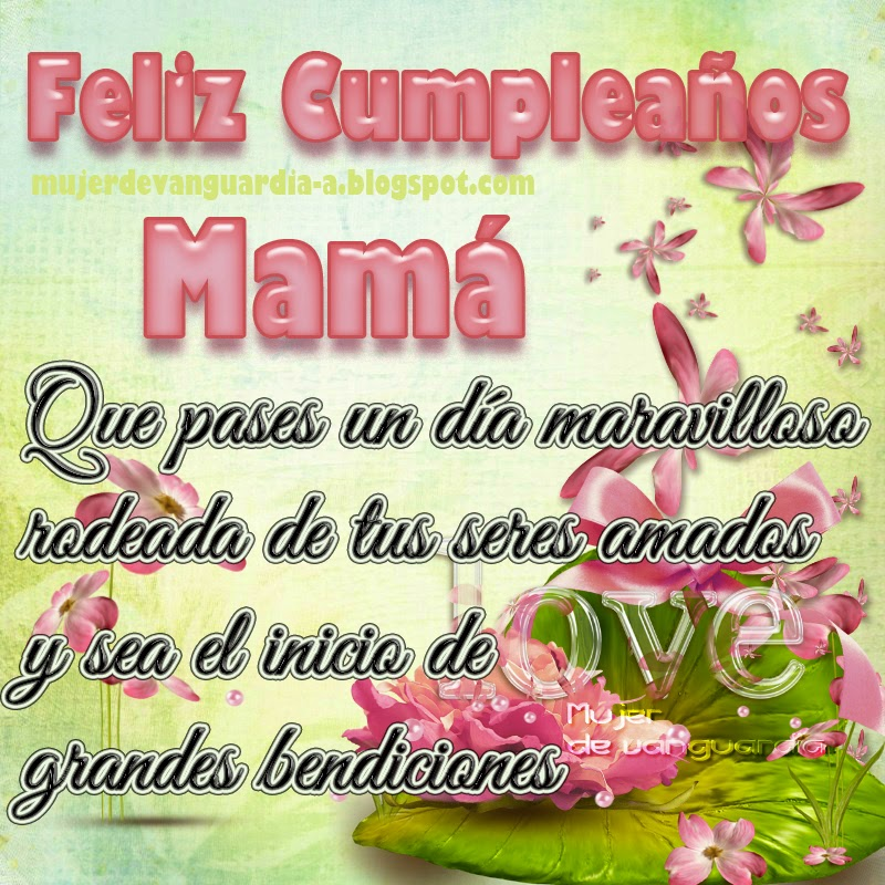 The gallery for -->... Feliz Cumpleanos Mama Tarjetas