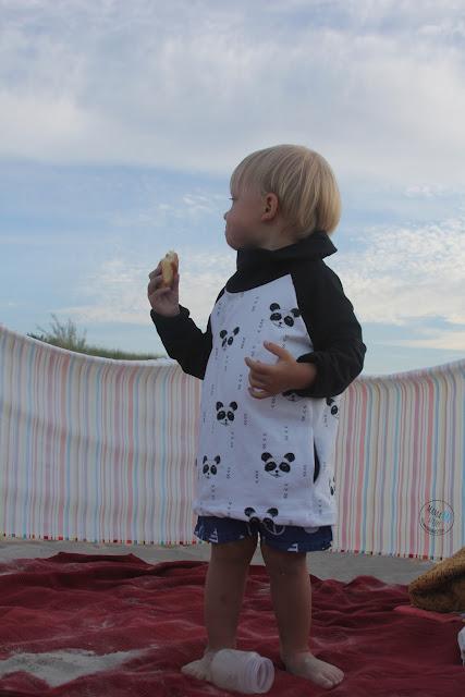 tunika dla dziewczynki, prosta bluza dla chłopca