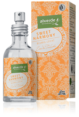 Alverde Naturkosmetik - Limited Edition Feenzauber - Eau de Toilette Sweet Harmony