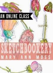 SKETCHBOOKERY ONLINE CLASS