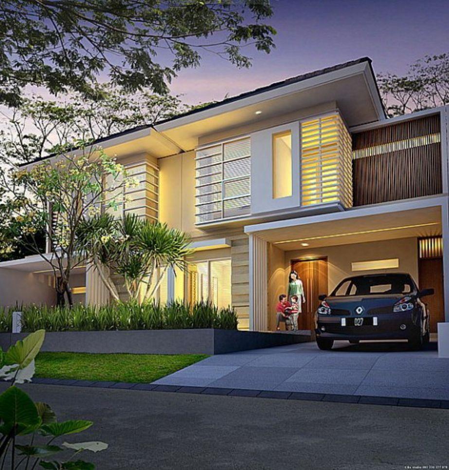 fasad rumah unik