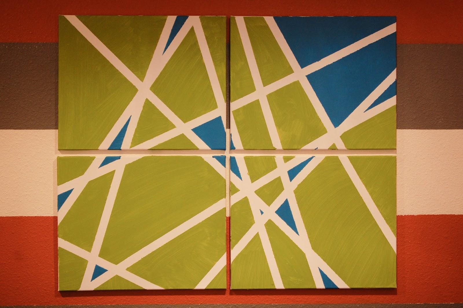 matthew gerdin: Art On A Budget (DIY): Geometric Art
