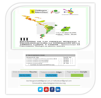 INSTITUIÇÕES PARTICIPANTES - III ECHTEC 2015