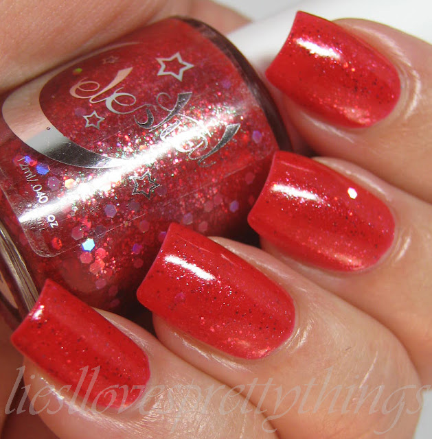 Celestial Cosmetics The Pink Planet swatch and review