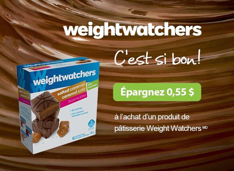 coupon rabais de 0 55 l 39 achat d 39 un produit de p tisserie weight watchers espace crq. Black Bedroom Furniture Sets. Home Design Ideas