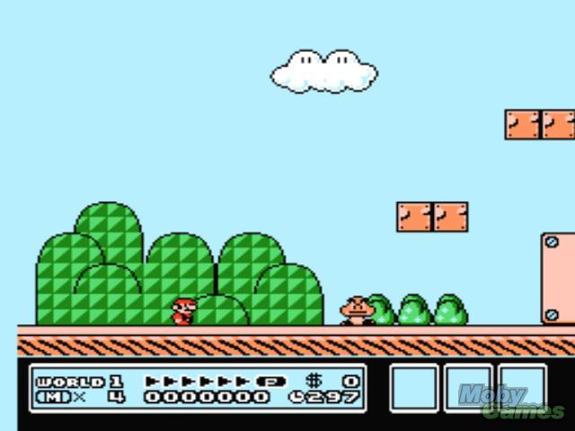 Game super mario bros 3