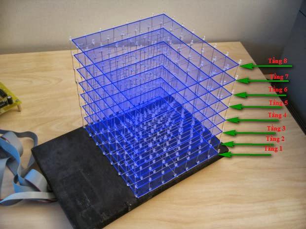 Светодиодный куб своими руками