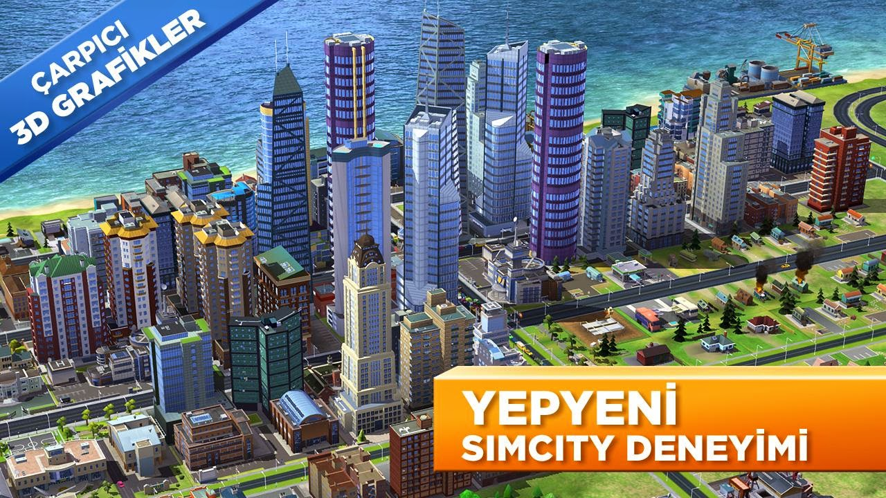 SimCity Build It Mod Apk