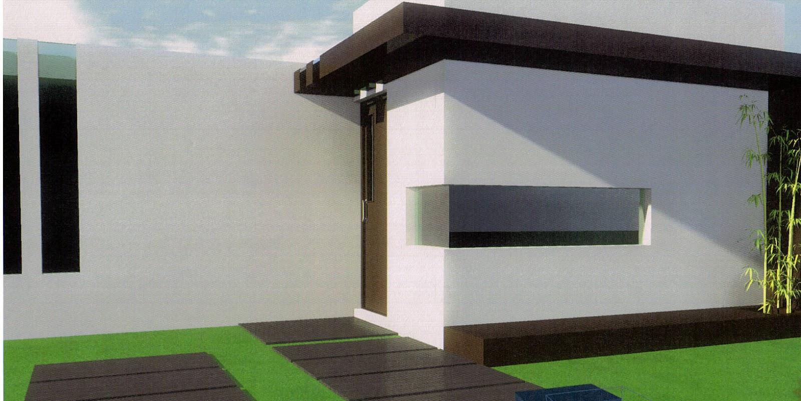 Casas en pachuca hidalgo for Fachada minimalista una planta
