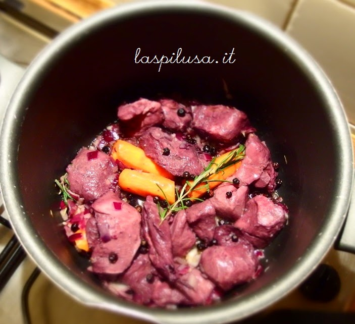 Ricetta tipica Toscana: cinghiale in umido