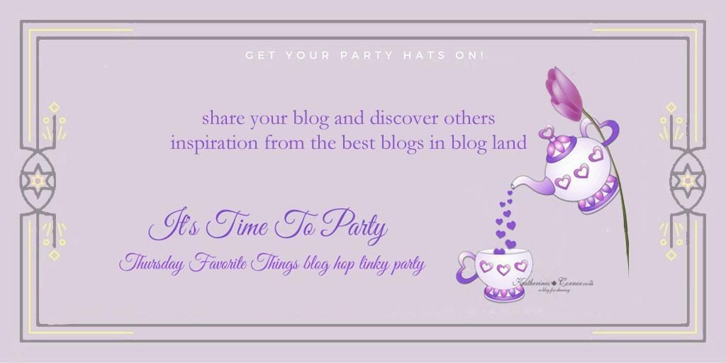 Thursday Favorite Things Blog Hop!