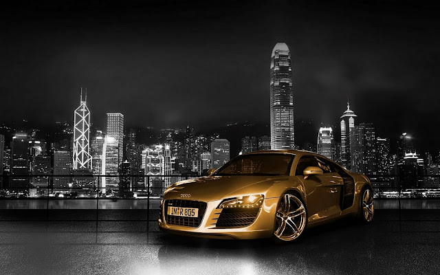 213-Finest Gold Plated Car HD Wallpaperz