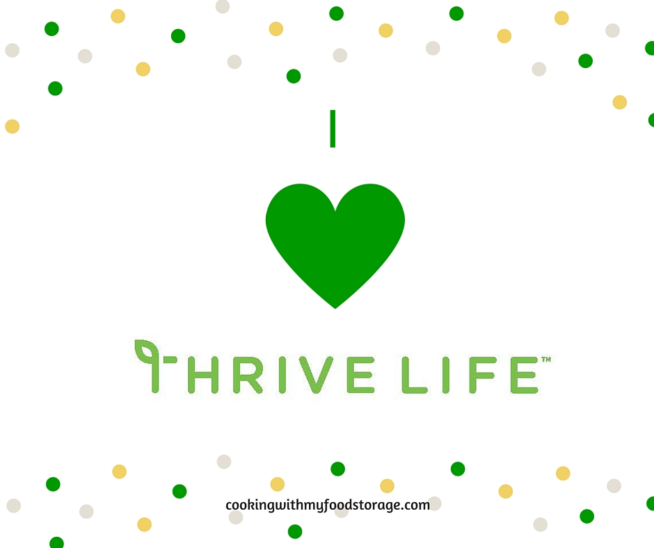 I love being a Thrive Life Consultant. It is one of the best decisions Iu0027ve made. This May I want to spread the Thrive Life Love.  sc 1 st  Cooking With My Food Storage & Cooking With My Food Storage: Thrive Life Love: $100 in free product ...