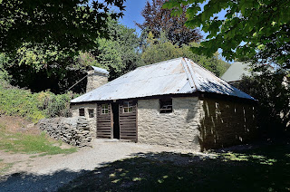 Ah Lum's store at Chinese settlement in Arrowtown, New Zealand