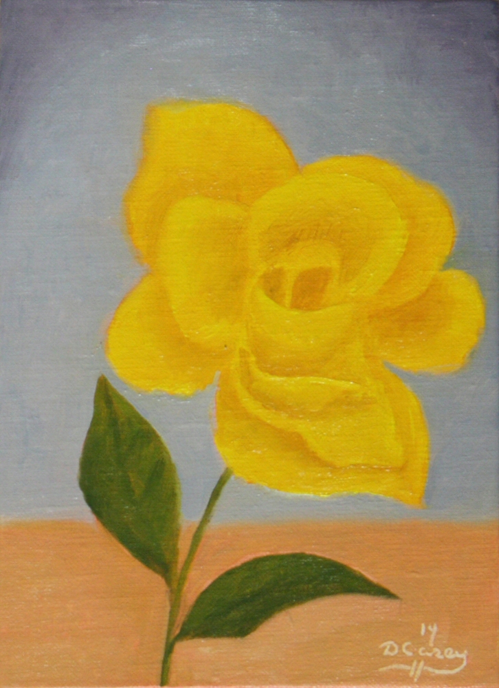 141017 - Gold Glow Rose 001a 5x7 oil on linen panel - Dave Casey - TheDailyPainter.jpg