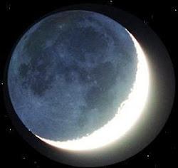 Eclipse lunar total acontece entre 18:00  e 19:00hs