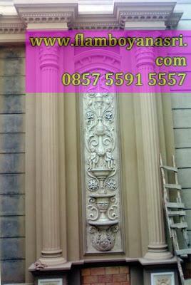 Tukang Taman surabaya Relief 3D Seni Painting Dinding