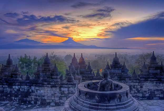 Borobudur Temple Compounds Indonesia Heritage