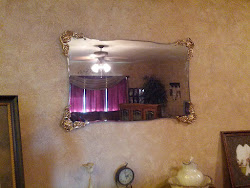 Fancy Mirror- Sold