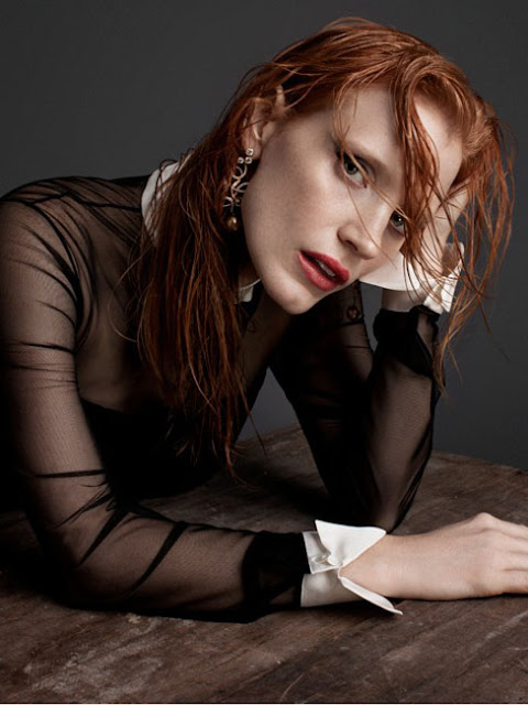 Jessica Chastain by Blossom Berkofsky for Crash Magazine-2