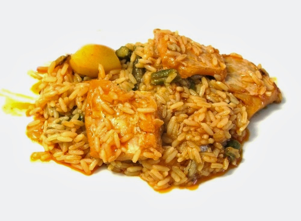 D a a d a arroz con bacalao y trigueros - Arroz con bacalao desmigado ...