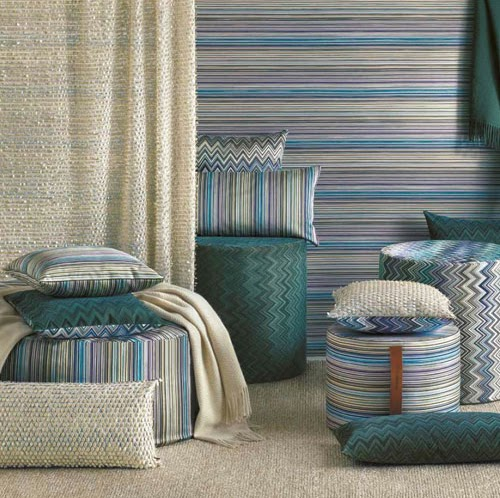 purefecto missoni home pouf sale. Black Bedroom Furniture Sets. Home Design Ideas