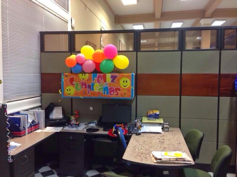 decoracion oficina cumplea os jefe