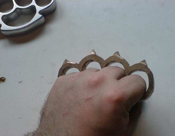 how to make brass knuckles