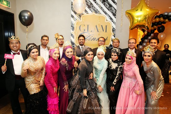 GLAM Dinner di JW Marriott KL tahun 2012