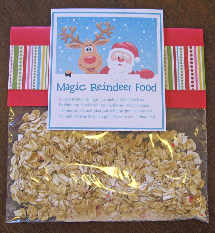 Reindeer Food Free Printable | New Calendar Template Site
