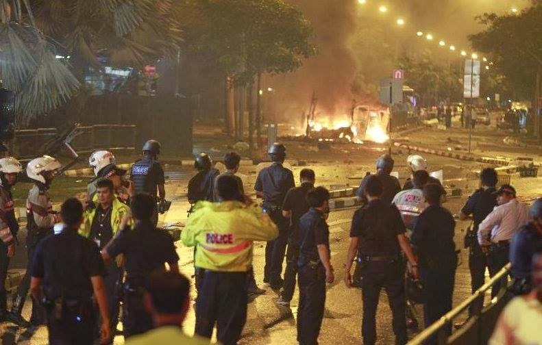 riot in singapore When i saw the news about the riot at little india that happened on sunday (8th  dec) night, i was totally shocked did this really happen in.
