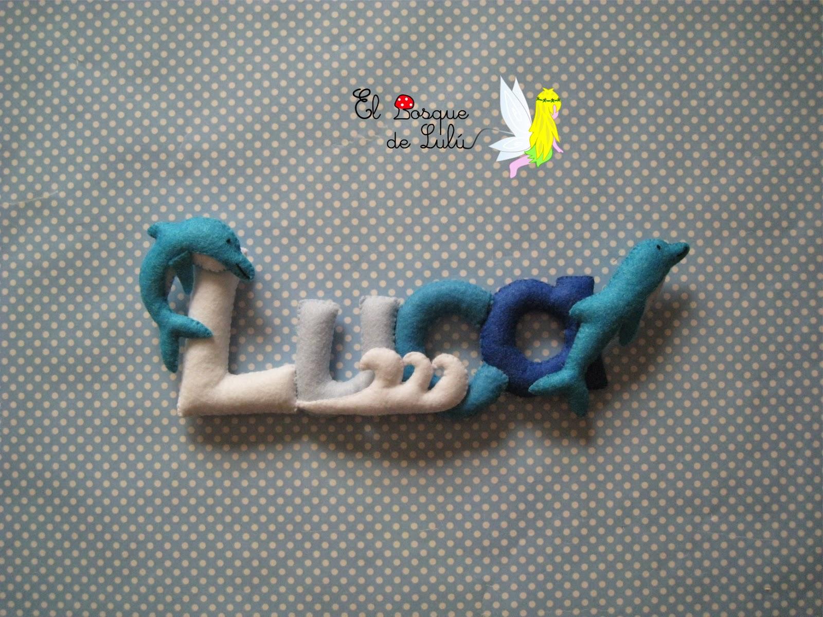 nombre-fieltro-detalle-nacimiento-decoración-infantil-delfines-Luca