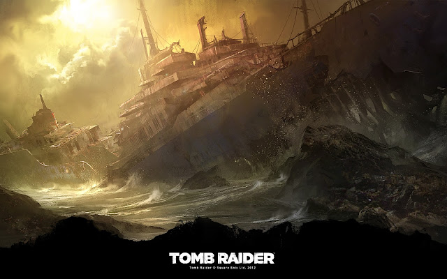 Shipwreck teaser - Tomb Raider