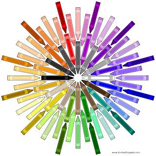 Crayon Mandala