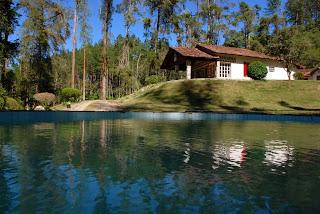 Sede do Parque Natural Municipal Montanhas de Teresópolis em Santa Rita, interior do município