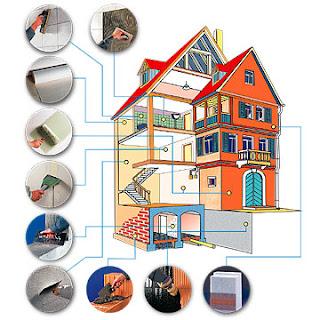 5 materiales para construccion de casas. y 1 mas.