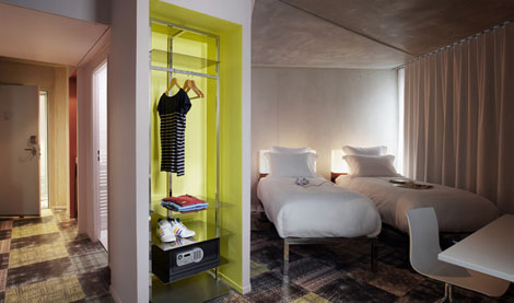 mama shelter hotel by philippe starck marseille designcombo. Black Bedroom Furniture Sets. Home Design Ideas