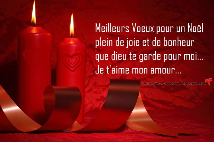 Message d'amour: SMS pour souhaiter joyeux noel a son amour