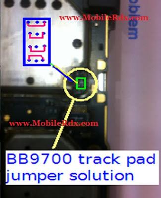 Blackberry 9700 Keypad Ic Jumper