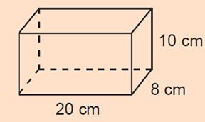 Berapakah volume balok tersebut?