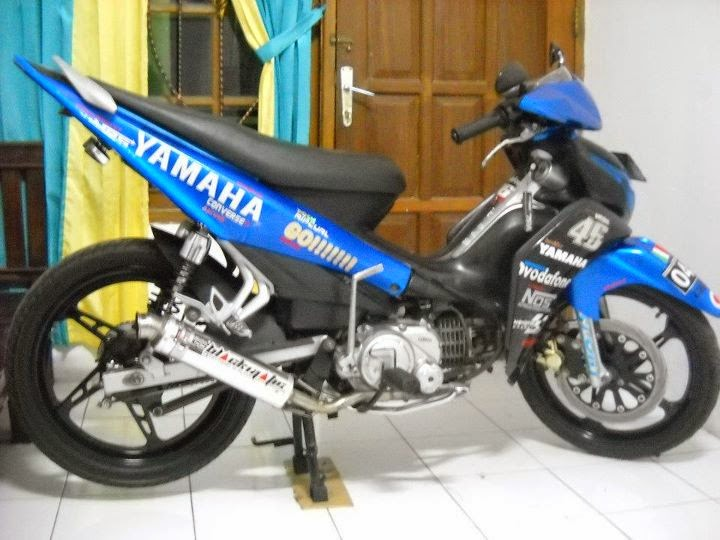 foto modifikasi jupiter z racing look