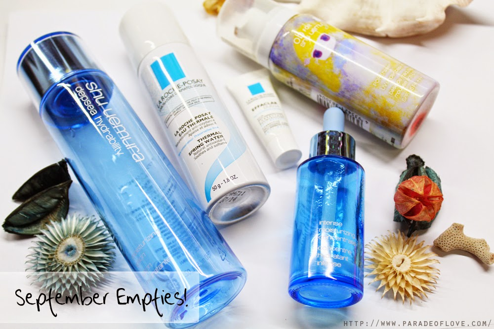 September 2014 Beauty Empties