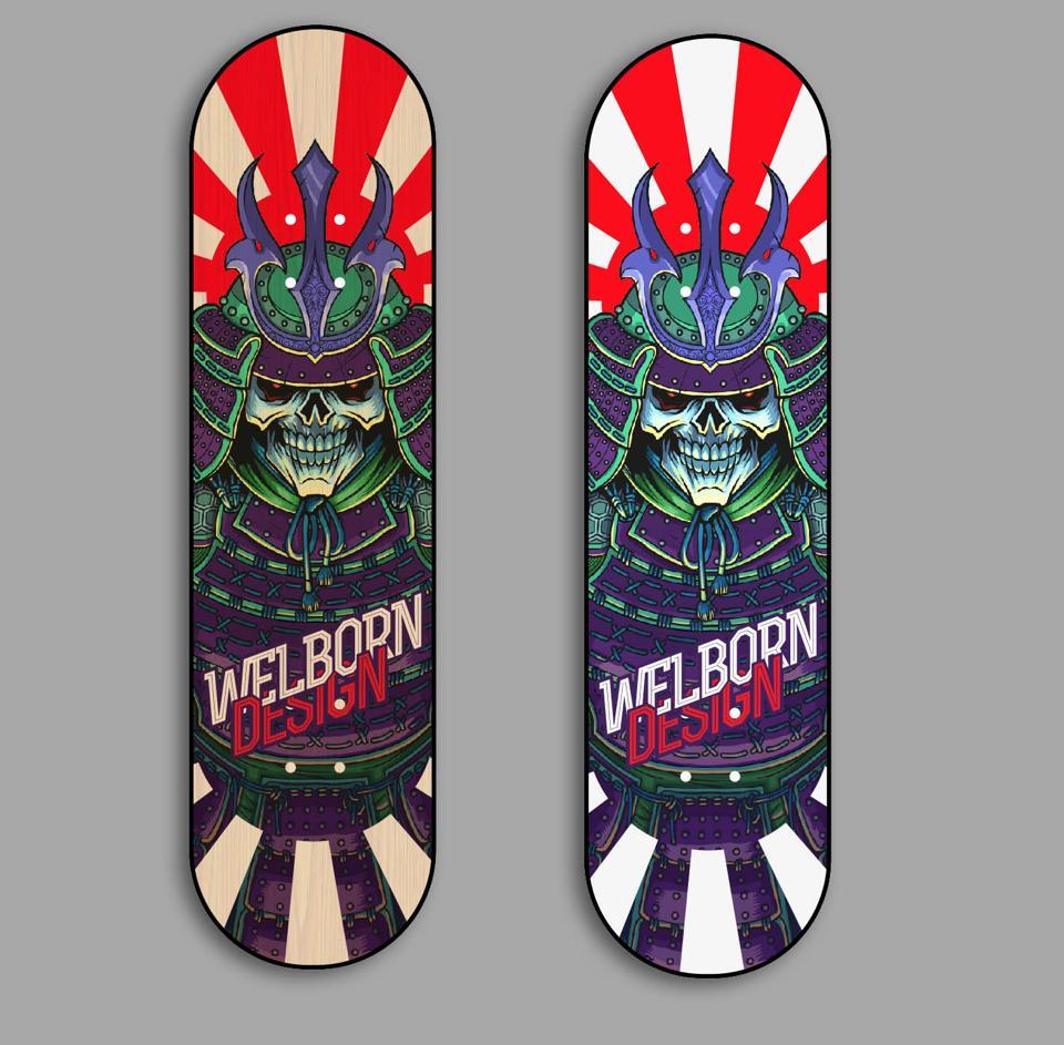 final deck wonderful printing job by boardpushercom