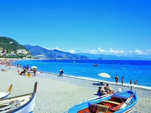 лигурия италия пляж