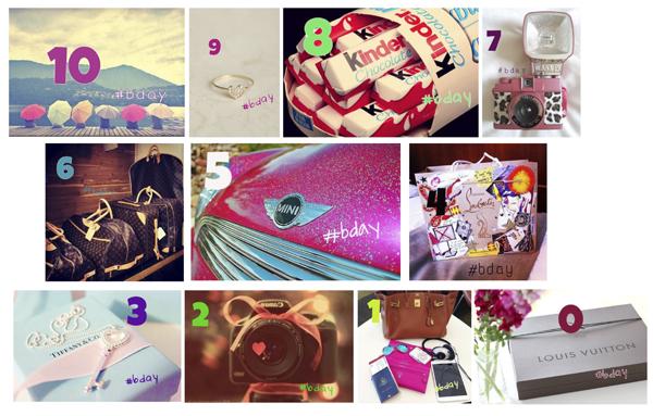wishlist aniversário blog Mamãe de Salto instagram @mamaedesalto ==> todos os diretos reservados