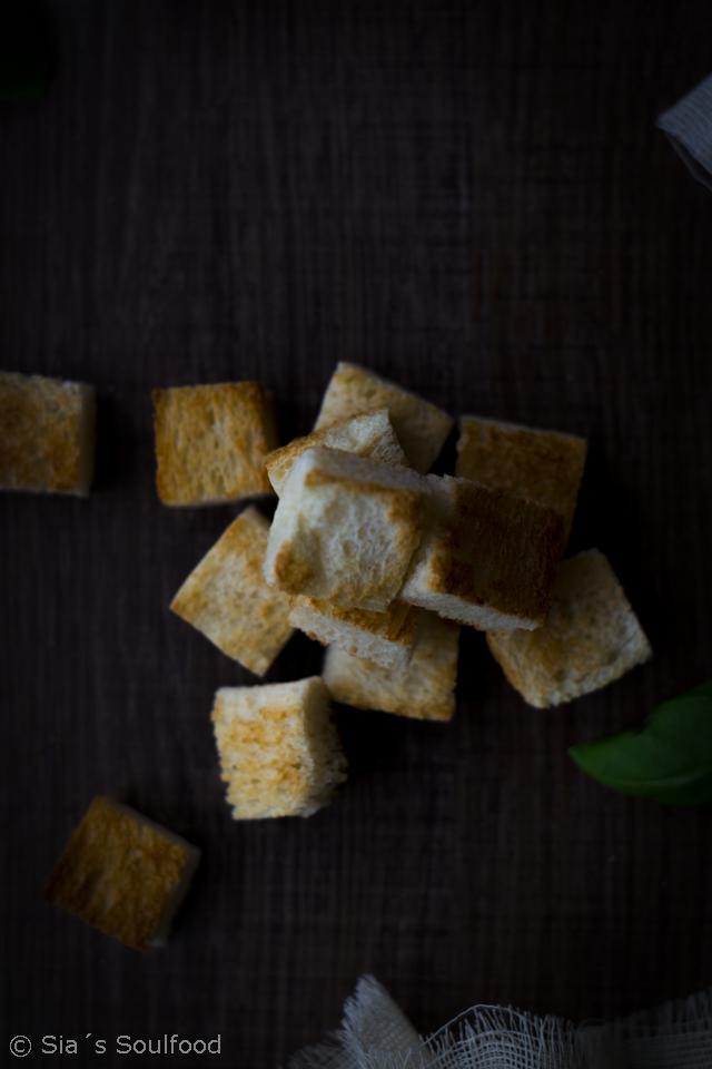 Pastinaken-Cremesuppe